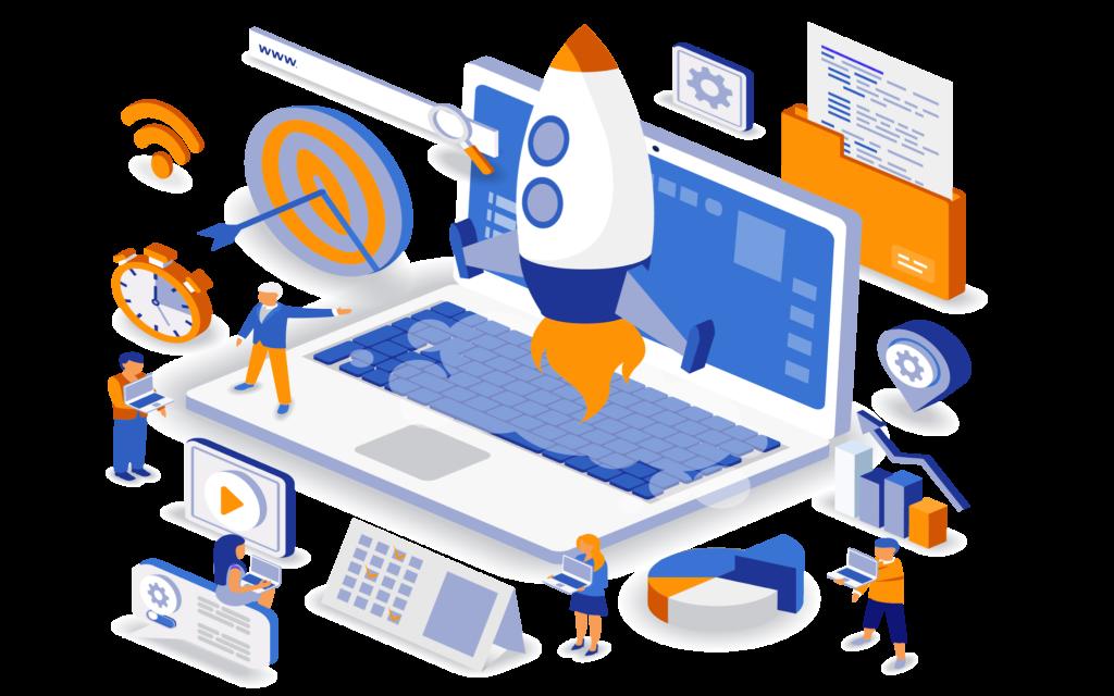 Digital Marketing solutions graphics